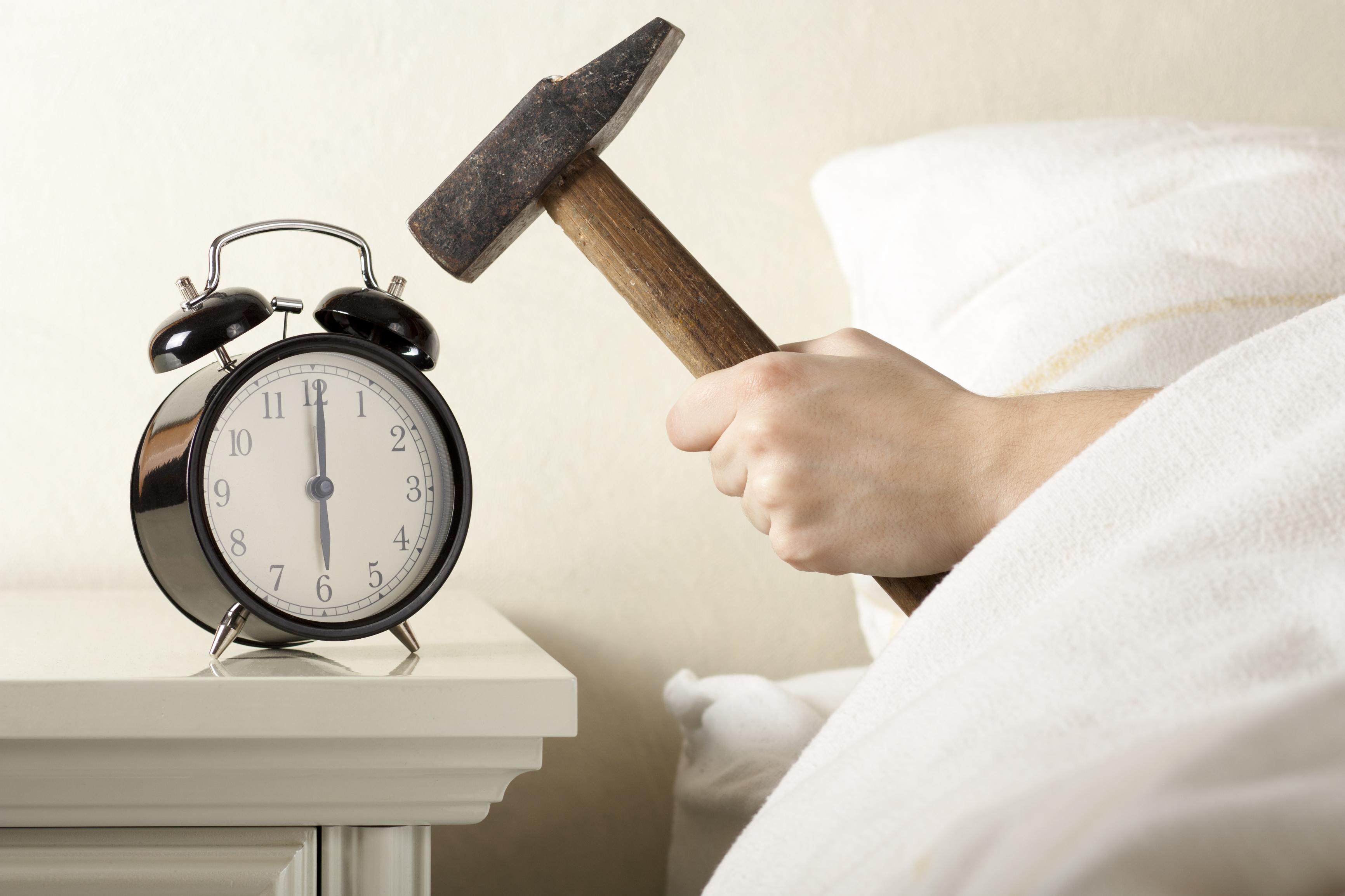 Hvordan vågner du om morgenen?
